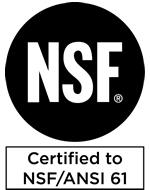 NSF/ANSI 61 Certified